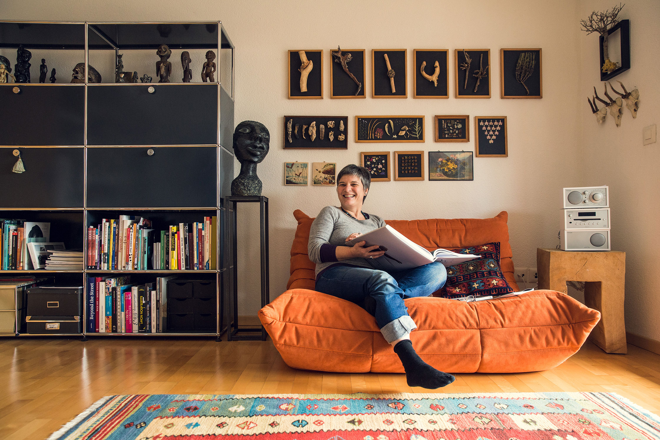 Usm Haller Wohnzimmer Sammlung | Brigitte Rossi Personalities By Usm